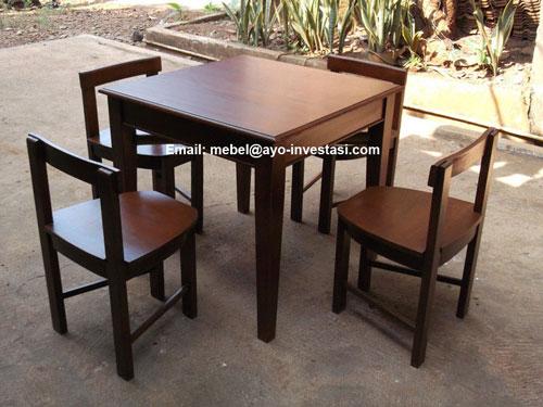 Meja Cafe Dan Meja Rumah Makan